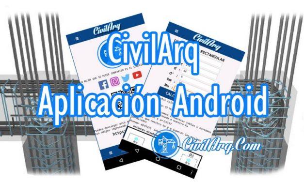 Aplicación CivilArq Vigas