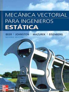 Mecánica Vectorial para Ingenieros Estática (9na Edición) – Beer Johnston Mazurek Eisenberg | Libro + Solucionario