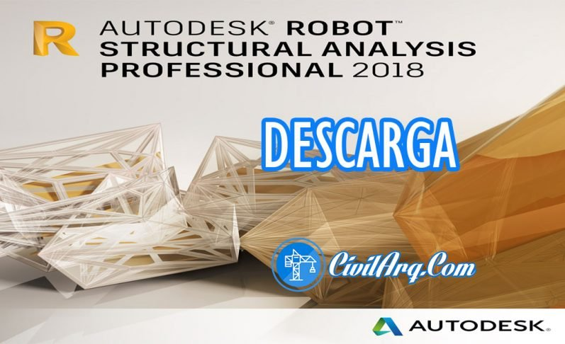 Robot Structural Analysis Professional 2018 [Multilenguaje]