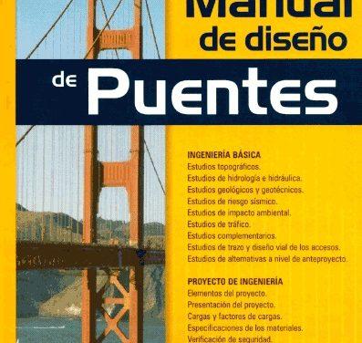 Manual de diseño de Puentes | Editorial Macro LIBRO PDF