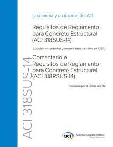 Requisitos de Reglamento para Concreto Estructural (ACI 318S-14)