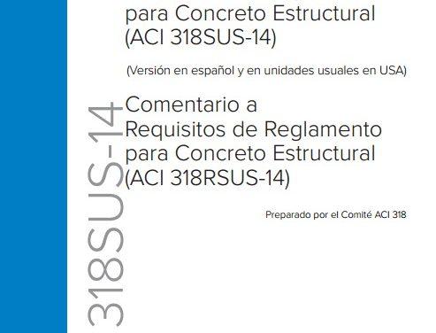 Norma ACI 318-14 en Español