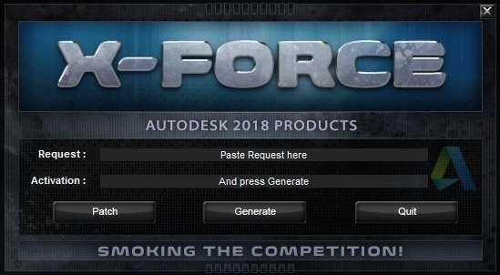 ACTIVAR productos Autodesk 2018 | X-Force 2018 (32/64 bit)