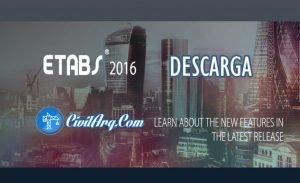DESCARGAR ETABS 2016 V16.2.1 (32/64 BIT)