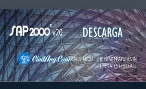 DESCARGAR SAP2000 V20.0.0 (32/64-BIT)