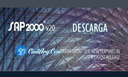 Descargar SAP2000 v20.2.0 (32/64-bit)