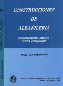 Construcciones de albañilería – Comportamiento sísmico y diseño estructural - ÁNGEL SAN BARTOLOMÉ LIBRO PDF