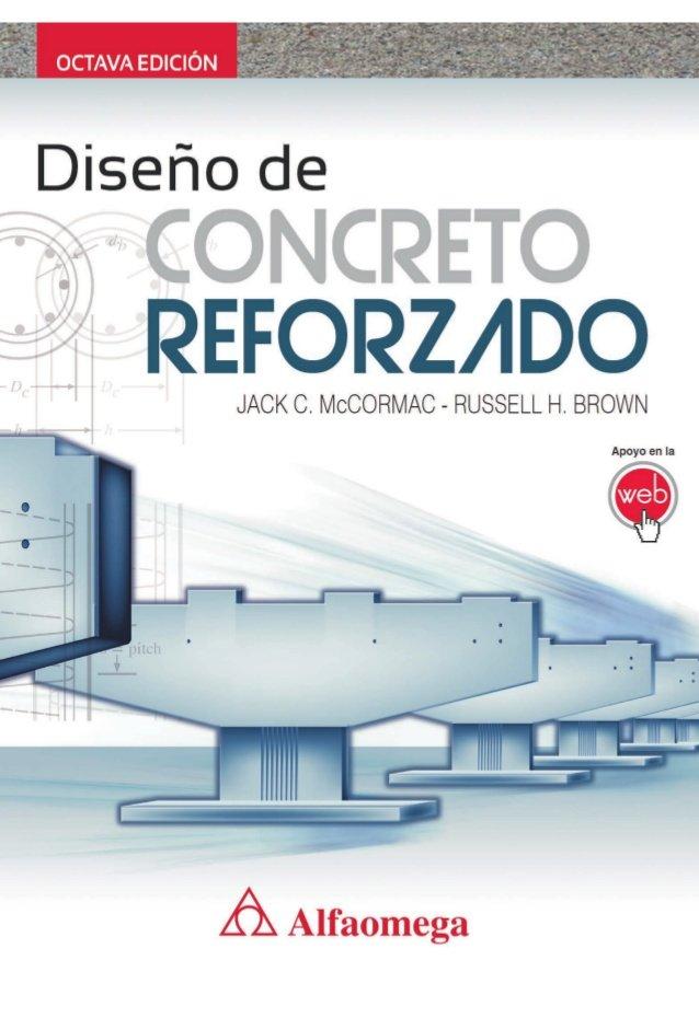Diseño de Concreto Reforzado (8va. Edición) – McCormac | Libro + Solucionario