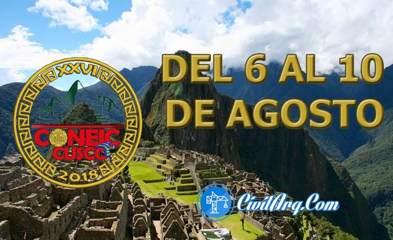 XXVI Coneic - Cusco 2018