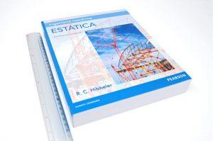 Ingeniería Mecánica Estática (14va Edición) – Russell C. Hibbeler | Libro + Solucionario