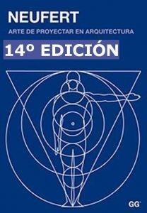 """NEUFERT """"Arte de proyectar Arquitectura"""" (14va Edición)   Libro PDF"""