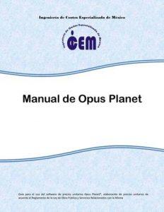 Manual de elaboración de presupuestos con OPUS PLANET – Ing. Didier Ramírez Celis | 1ra Edición | Libro PDF