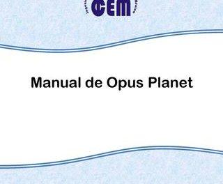 Manual de elaboración de presupuestos con OPUS PLANET – Ing. Didier Ramírez Celis   1ra Edición   Libro PDF