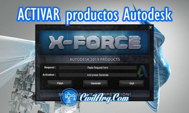 🔥 X-FORCE Autodesk 2009 a 2019