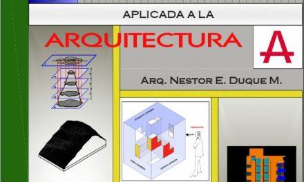 Geometría Descriptiva Aplicada a la Arquitectura – Nestor E. Duque M.   Libro PDF
