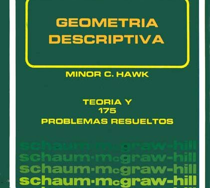 Geometría Descriptiva – Minor Clyde Hawk | Libro PDF
