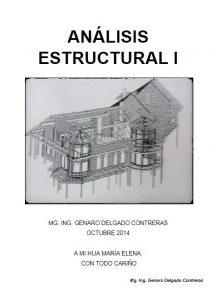 Análisis Estructural I - Genaro Delgado Contreras | Libro PDF
