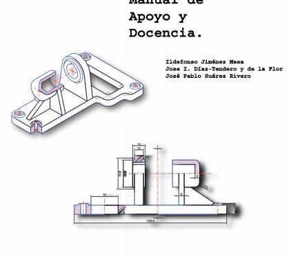 Dibujo Industrial Manual de Apoyo y Docencia – Ildefonso Jiménez Mesa | Libro PDF