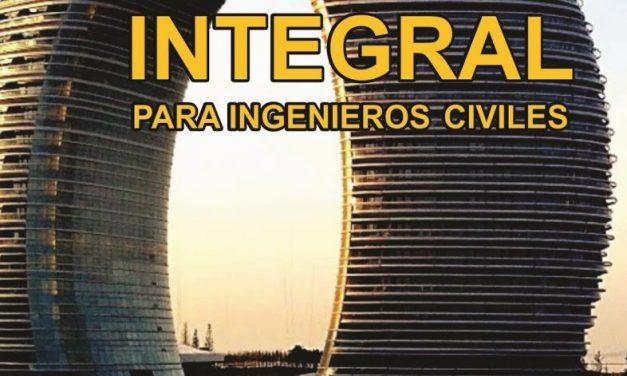 CÁLCULO INTEGRAL PARA INGENIEROS CIVILES Problemas Resueltos – Genner Villarreal Castro | Libro PDF
