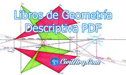 Libros de Geometría Descriptiva y mas ✅ PDF