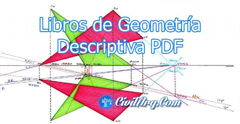 Libros de Geometría Descriptiva