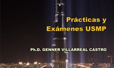 Resistencia de Materiales I Prácticas y Exámenes USMP – Genner Villarreal Castro | Libro PDF