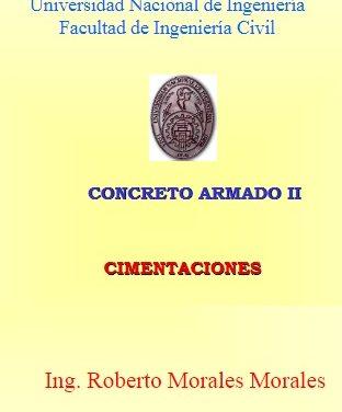 Cimentaciones – Roberto Morales Morales | Libro PDF