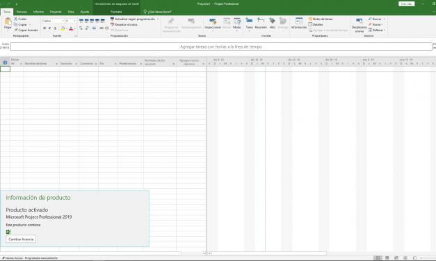 Descargar Microsoft Project Professional 2019 (32/64-bit)