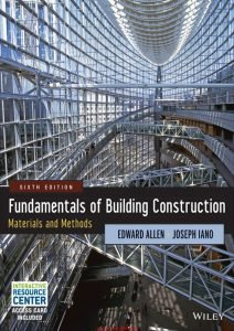 Fundamentals of Building Construction Materials and Methods Book PDF