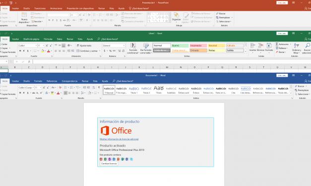 Microsoft Office Professional Plus 2019 (Español/Ingles)