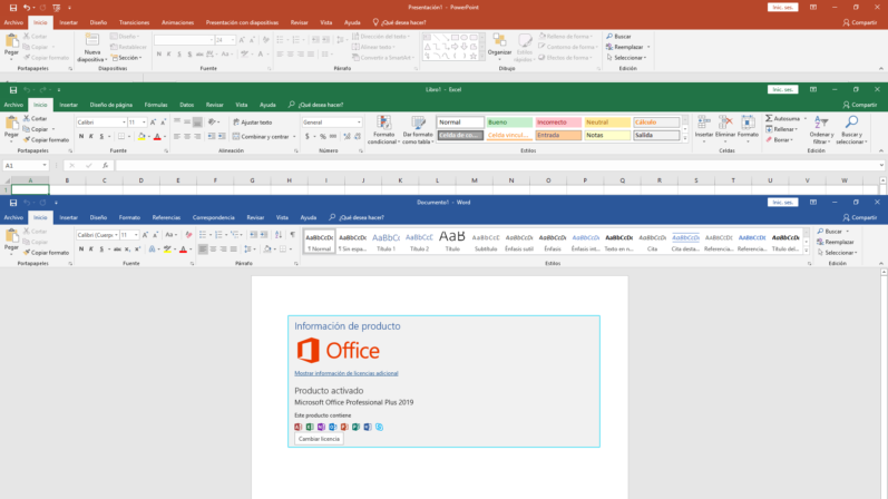 Microsoft Office Professional Plus 2019 (Español/Ingles)