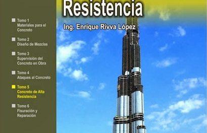 Concretos de Alta Resistencia – Enrique Rivva López | Libro PDF