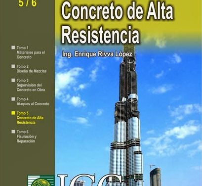 Concretos de Alta Resistencia – Enrique Rivva López   Libro PDF