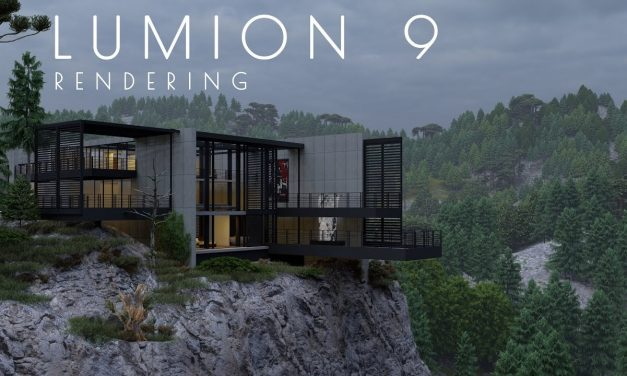 Lumion Pro 9 Software de visualización y renderización en 3D
