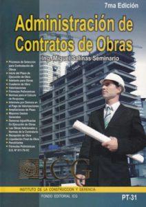 Administración de Contrato de Obras - Miguel Salinas Seminario