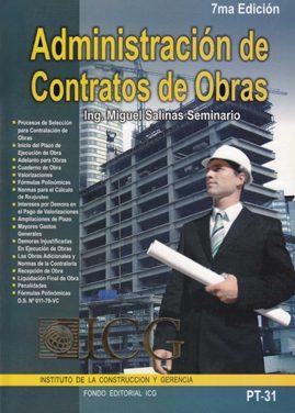 Administración de Contrato de Obras – Miguel Salinas Seminario