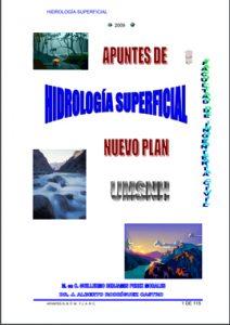 Apuntes de Hidrologia Superficial - Guillermo Benjamin Perez Morales