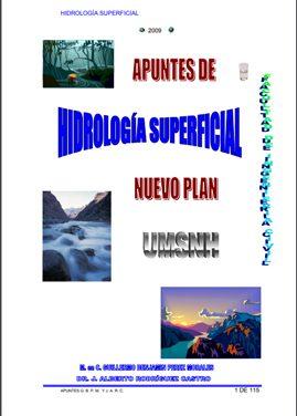Apuntes de Hidrologia Superficial – Guillermo Benjamin Perez Morales