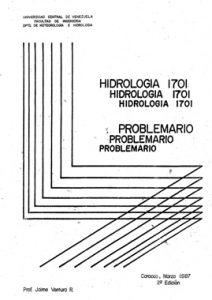 Hidrologia - Problemario - Jaime Ventura R.