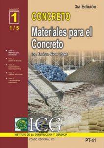 Materiales Para El Concreto - Enrique Rivva Lopez