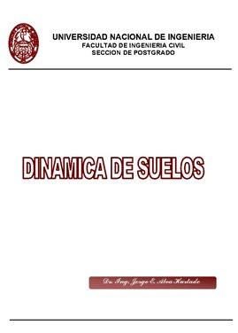 DINAMICA DE SUELOS – UNI