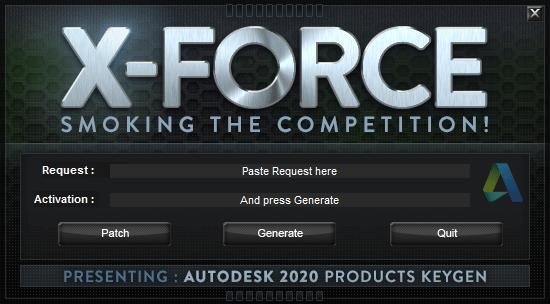 X-Force 2020 por mega para Windows