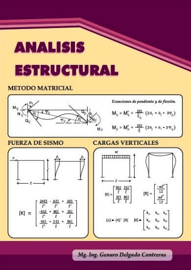 Análisis Estructural - Genaro Delgado Contreras | Libro PDF