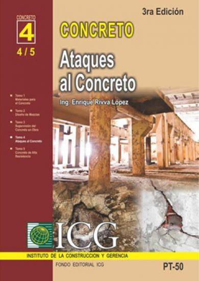 Ataques al Concreto - Enrique Rivva Lopez