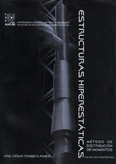 Estructuras Hiperestáticas: Método de Distribución de Momentos - Cesar Fonseca Ponce | Libro PDF