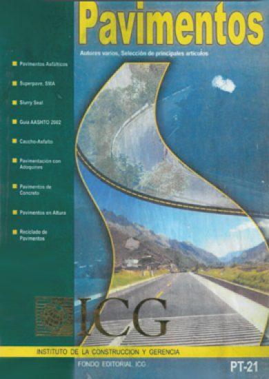 Pavimentos - Autores Varios, Selección De Principales Artículos