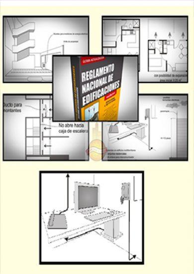 Reglamento Nacional De Edificaciones Ilustrado - Sección Arquitectura | Libro PDF