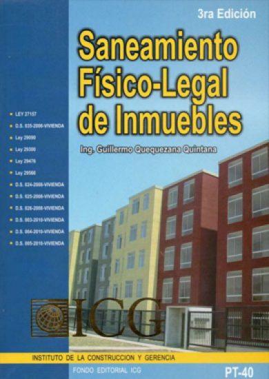 Saneamiento Físico-Legal de Inmuebles - Guillermo Alfredo Quequezana Quintana
