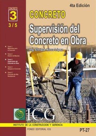 Supervisión Del Concreto En Obra - Enrique Rivva Lopez