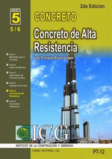 Concretos de Alta Resistencia - Enrique Rivva López   Libro PDF